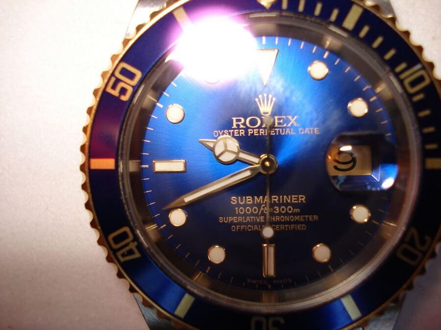 Rolex Oyster Perpetual Submariner Blue Rolex Submariner
