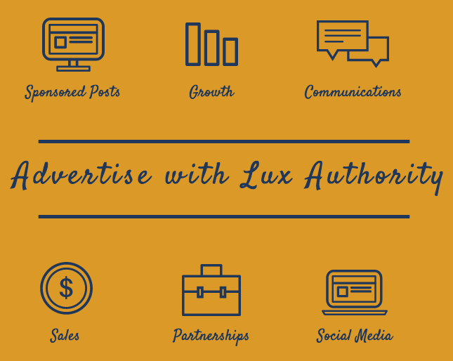 advertise with lux authority