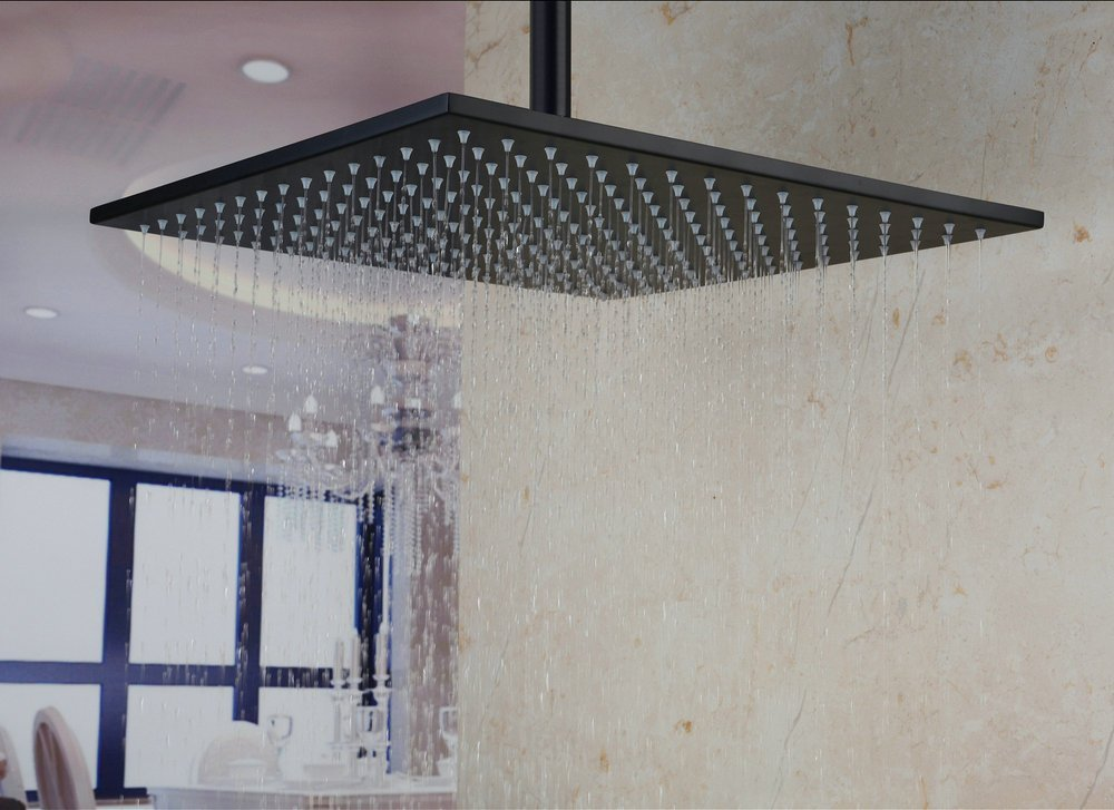 luxury shower head