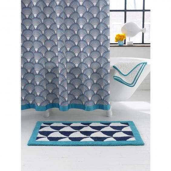 Jonathan Adler's Fish Scales Shower Curtain