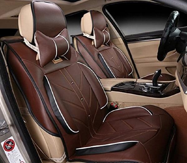 Amooca Compatible Universal Car Seat Cover luxury car seats