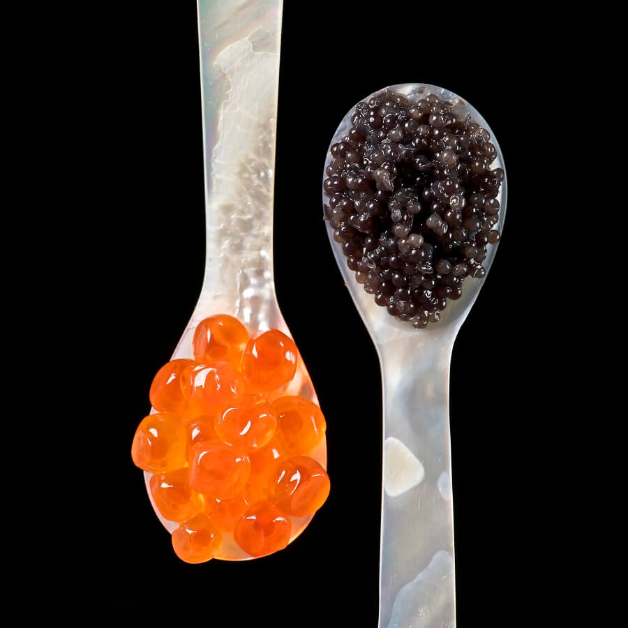Caviar luxury ingredients