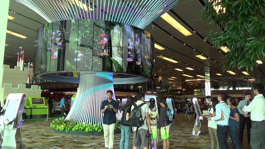 Social Tree in Changi Airport