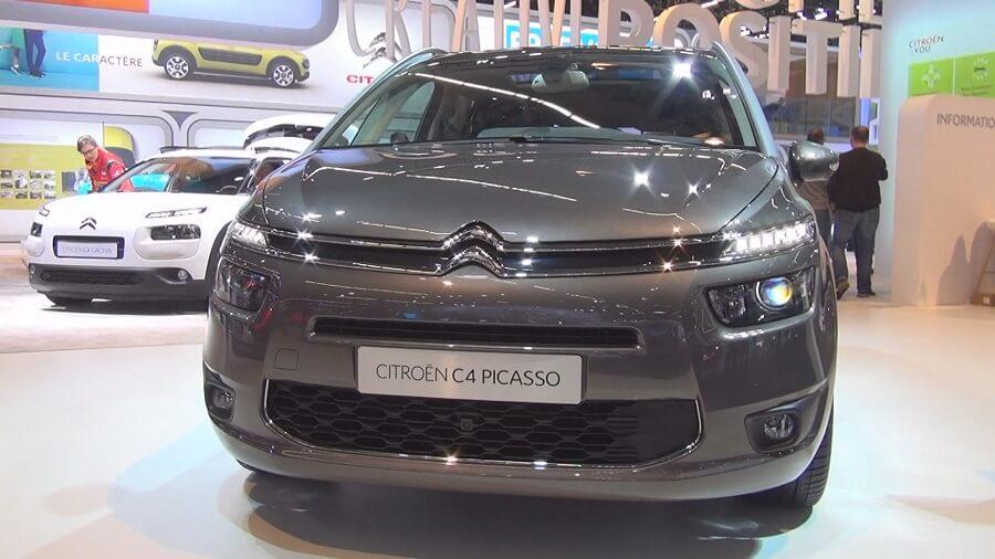 Citroen Grand 4 Picasso luxury car seats