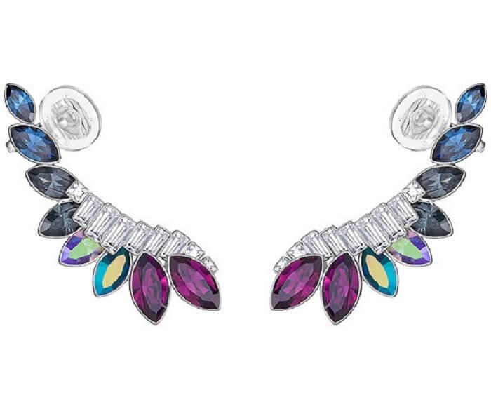 Cosmic Ear Cuffs Swarovski earrings