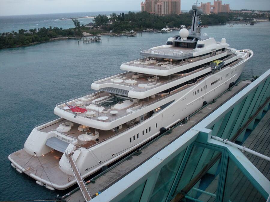 Roman Abramovich's yacht