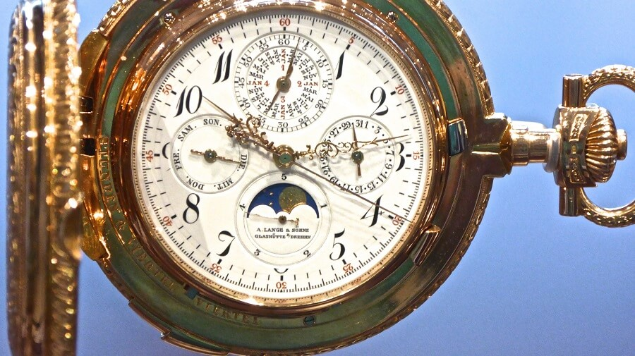 Grande Complication of a A.Lange and Sohne Watch luxury watches for men