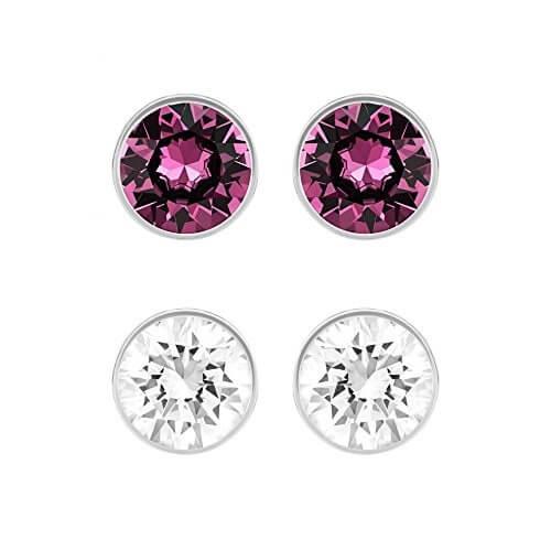Harley Pierced Swarovski Earrings