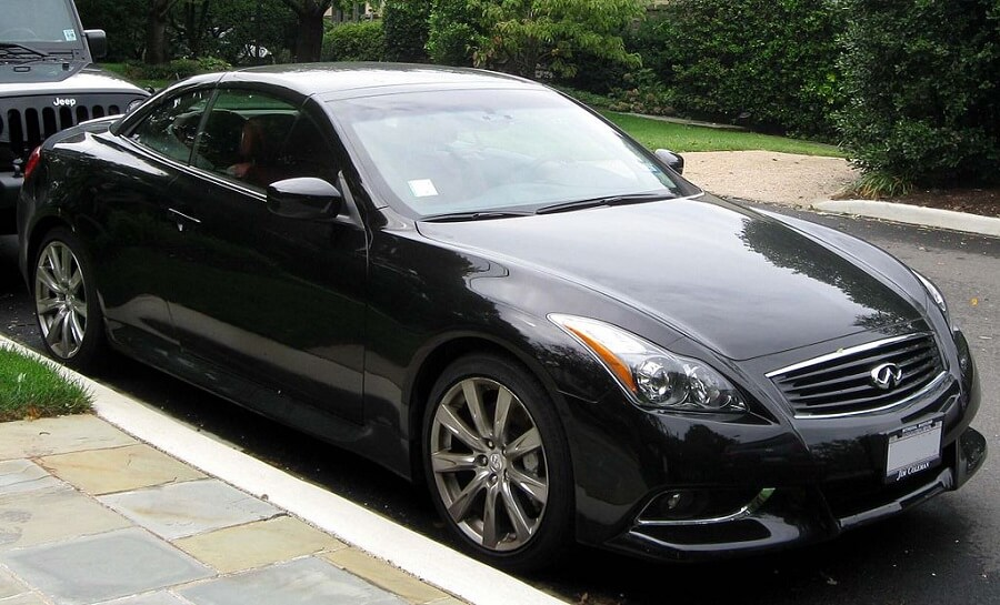 Infinity G37 affordable luxury cars