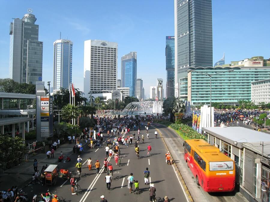 View of Jakarta Indonesian luxury market