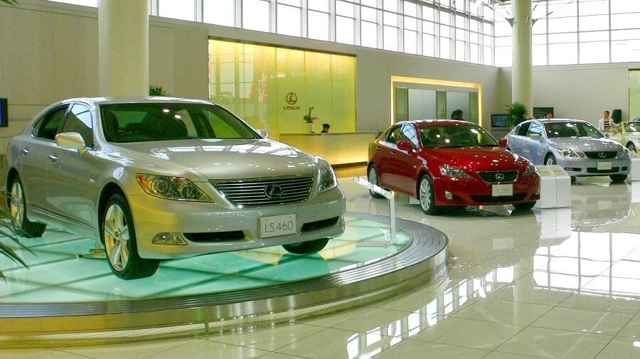Lexus showroom in Indonesia Indonesian luxury market