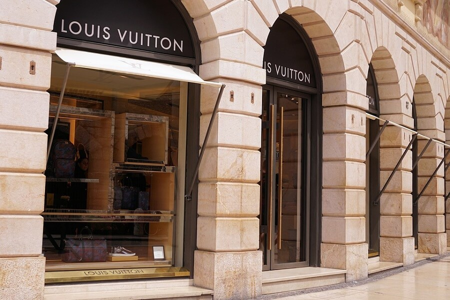 Louis Vuitton luxury shopping