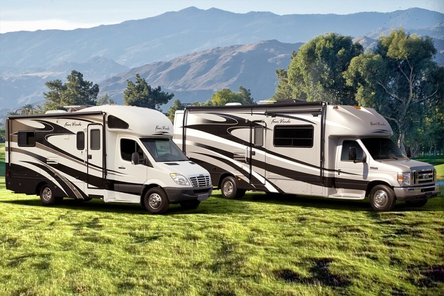 Motorhomes in the Mountains luxury mobile homes