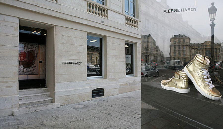 Pierre Hardy Sneakers for the rent the runway experience