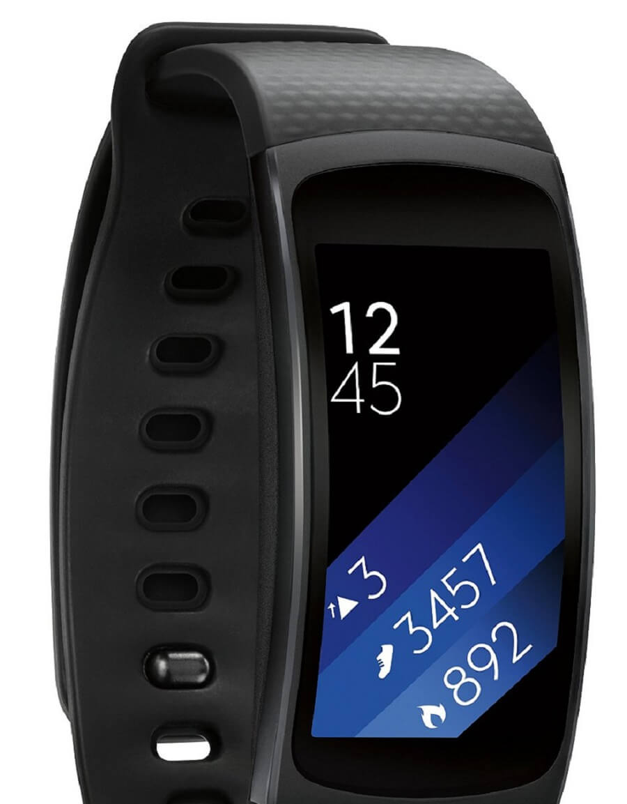 Samsung Gear Fit 2 fitness trackers