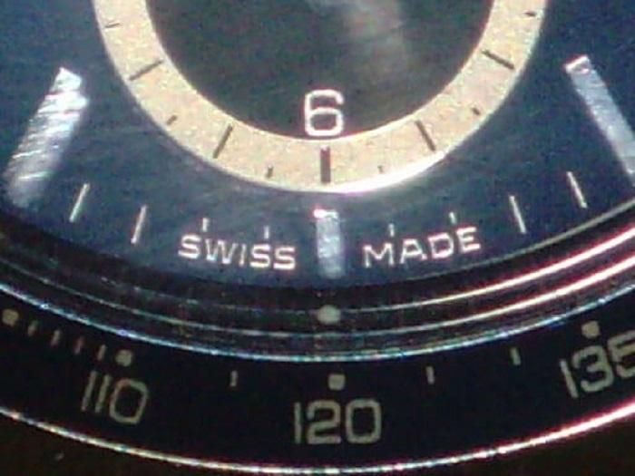 Swiss Made Label weird ape