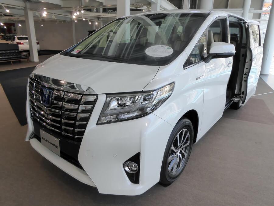 Toyota Alphard Hybrid Executive Lounge luxury MPV