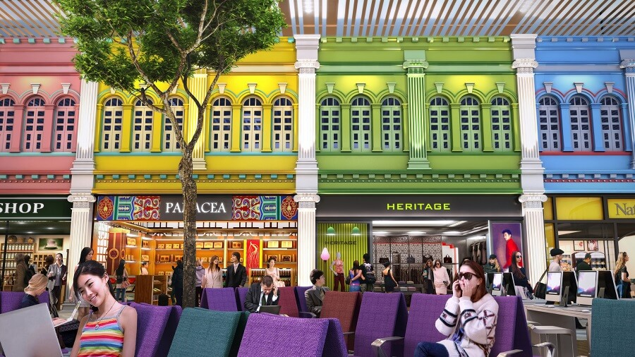 Peranakan Shops Changi Airport