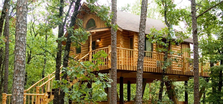 TREEHOUSE COTTAGES in Eureka Springs, Arkansas