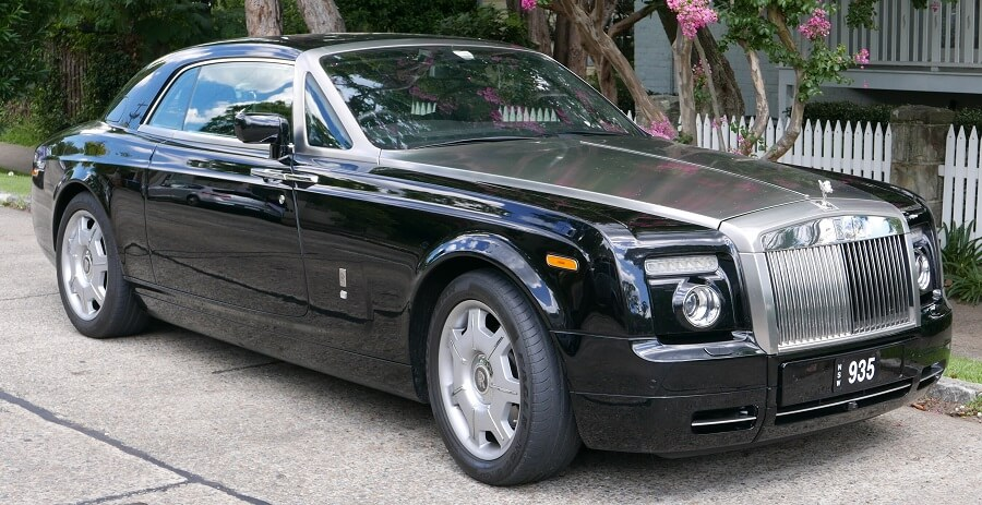 Rolls Royce Phantom Coupe as one of the disappearing classic luxury cars