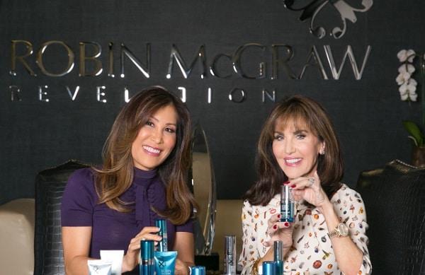 Robin McGraw and Dr. Jessica Wu
