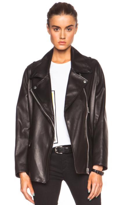 acne studios moto jacket
