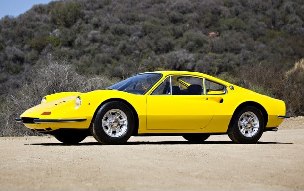 Dino 106 GT yellow