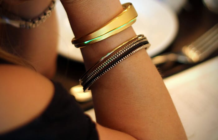 luxury meets the internet of things in new high tech bracelet