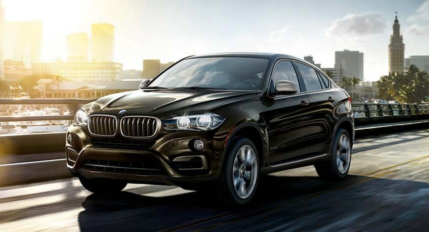 most reliable luxury cars BMW X6