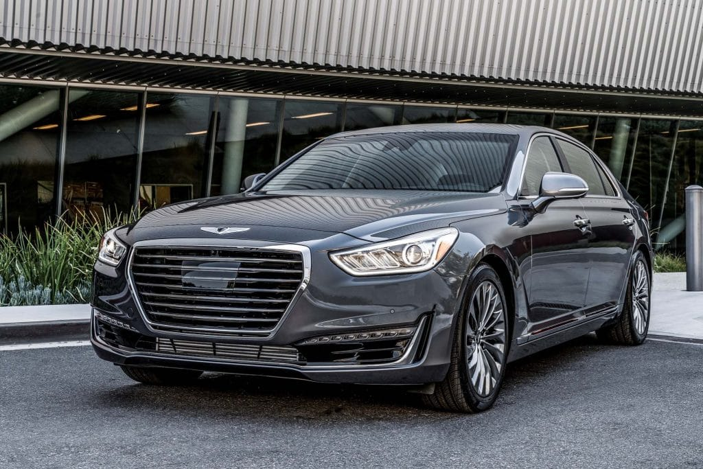 most reliable luxury cars 2017 Genesis G90