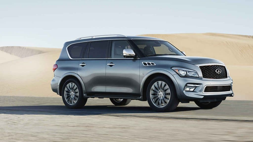 most reliable luxury cars infinit qx80 2017