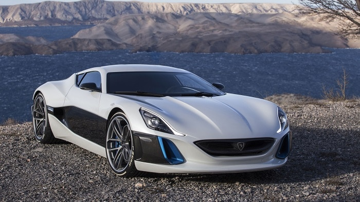 most expensive electric cars 2017 Rimac One