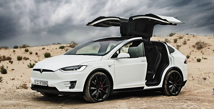 most expensive electric cars Tesla Model X P100D
