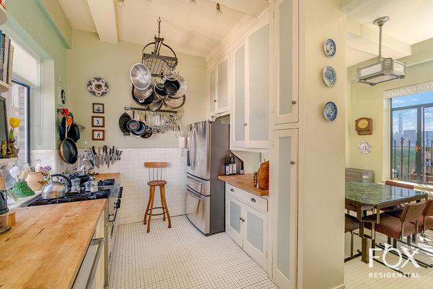 Barbara Streisand kitchen penthouse