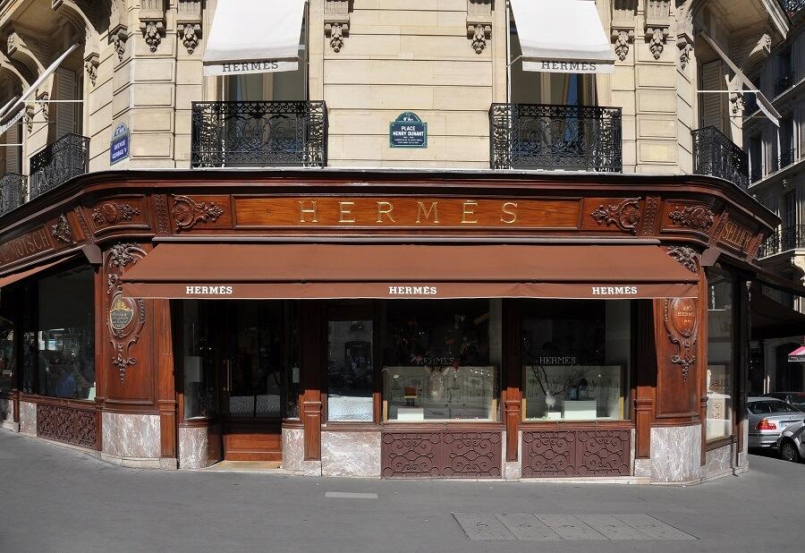 hermes bags store