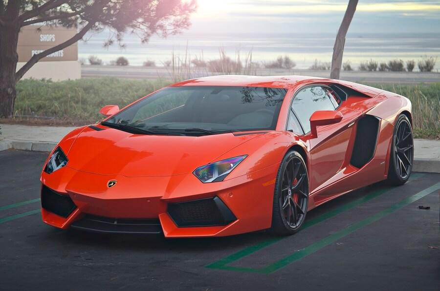 Lamborghini Aventador luxury rental cars