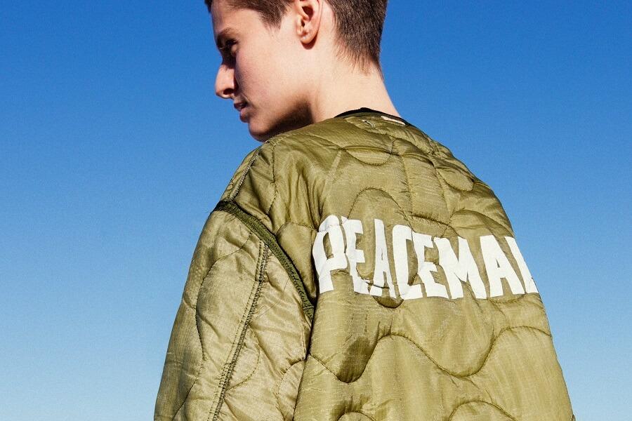 Peacemaker jacket from OAMC luxury streetwear