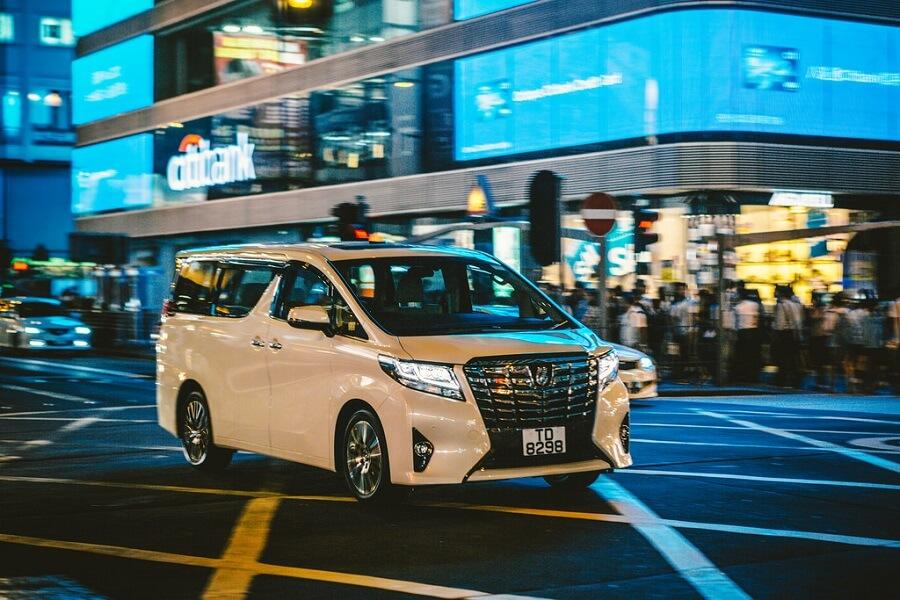 Toyota Alphard luxury cars