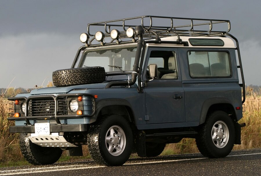 Land Rover Defender, one of the most beloved classic luxury cars