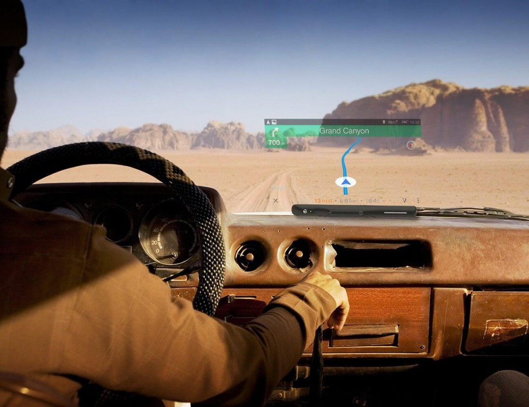 SkyScreen Navigational System