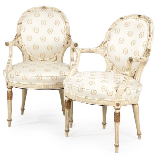 arm chair set of two