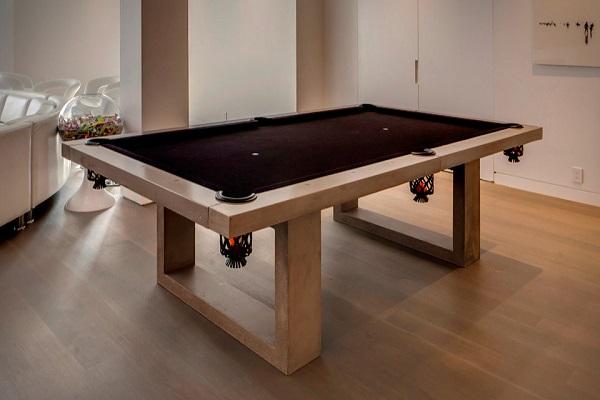 James DeWulf pool table