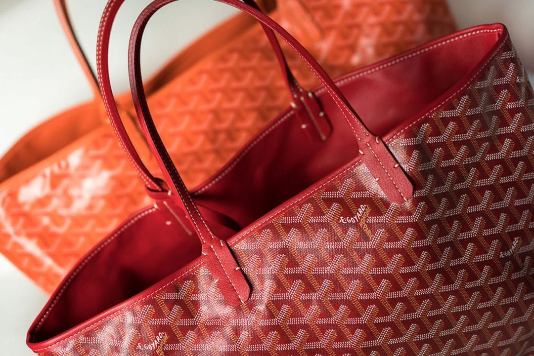 goyard bags modern colors and models