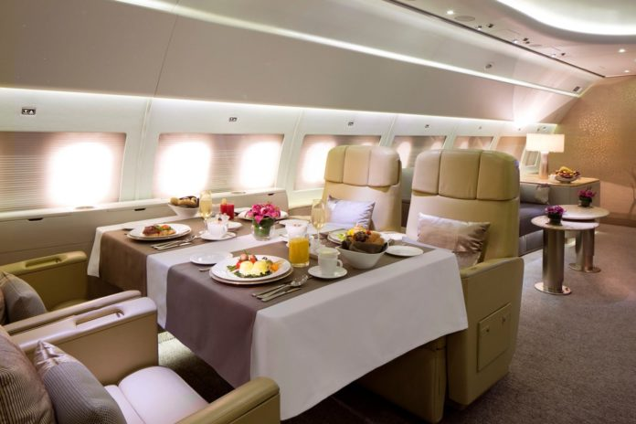 Luxury airlines, most luxurious airlines, luxury planes, fancy airlines, luxury plane travel, expensive airlines, luxury flights, most expensive airline