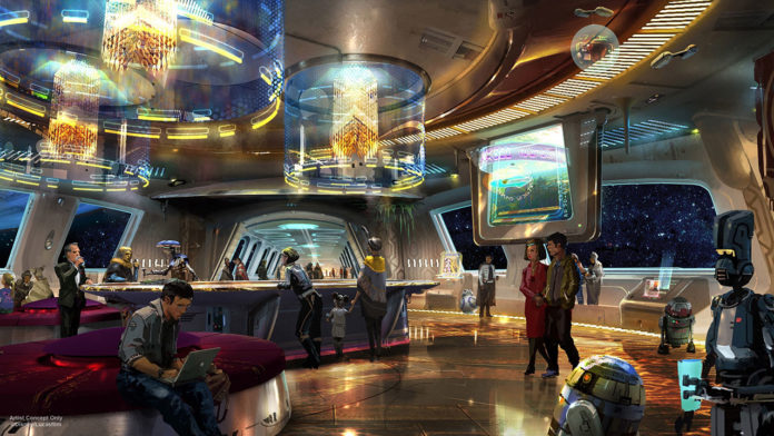 Star Wars, Star Wars Hotel, Disney, Disneyworld, Star Wars Hotell, Disneyworld