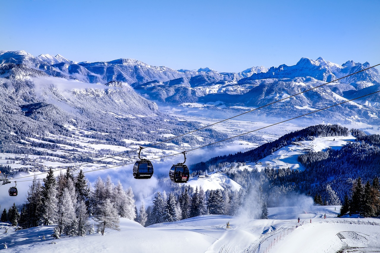 the best ski resorts in the world for hitting the slopes in style