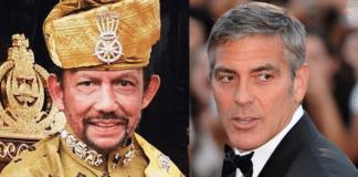 George Clooney, Sultan Hassanal Bolkiah