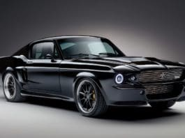 muscle car, electric car, mustang