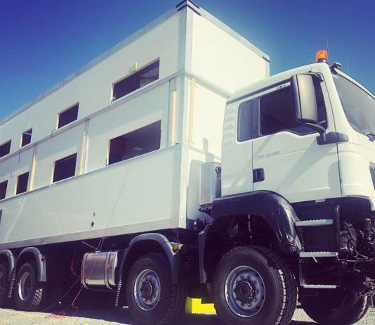 commander 8x8, luxury RV, two story rv